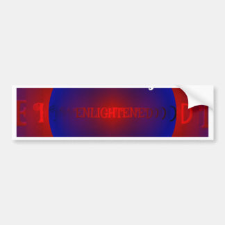 Red White Blue Political Right To Vote Abstract Bumper Sticker