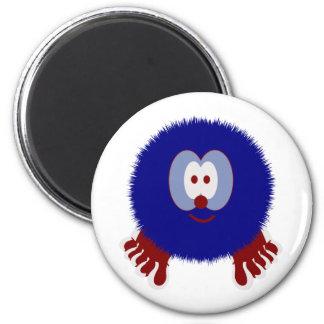 Red White Blue Pom Pom Pal Magnet