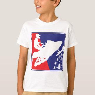 red-White-Blue-Sled-zazzle T-Shirt