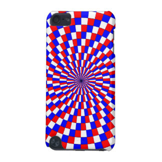 Red White Blue Spiral iPod Touch (5th Generation) Cover