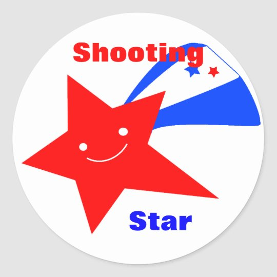 Red, White, & Blue Star Award Stickers