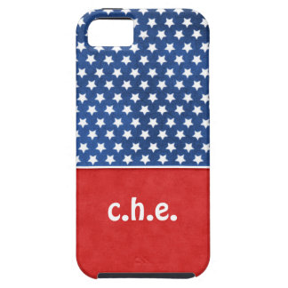 Red, White Blue Stars America Iphone Case iPhone 5 Cover