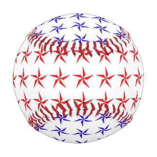 Red White Blue Stars Baseball