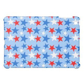 Red White & Blue Stars iPad Mini Cases