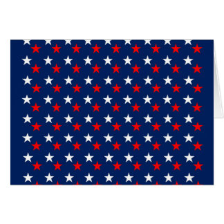 RED WHITE BLUE STARS PATTERN BACKGROUNDS WALLPAPER CARD
