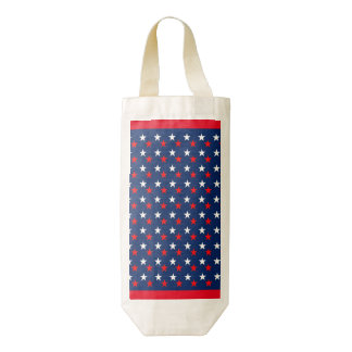 RED WHITE BLUE STARS PATTERN BACKGROUNDS WALLPAPER ZAZZLE HEART WINE BAG