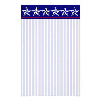 Red, White & Blue Stationery
