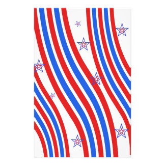 Red, White,  Blue, Stripes and Stars Flyer