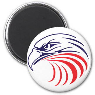 Red, White & Blue Stylized Eagle Magnet