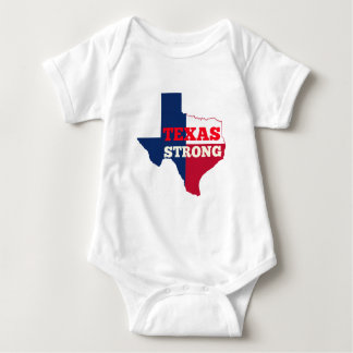 """Red, White & Blue """"Texas Strong"""" Baby Bodysuit"""