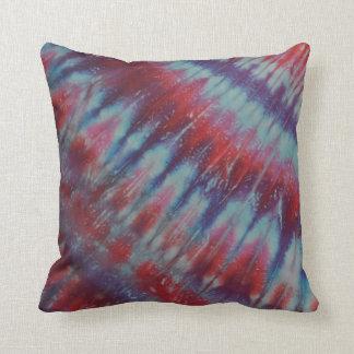 Red White Blue Tie Dye American MoJo Pillow