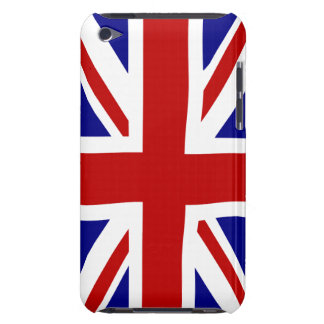 Red White Blue Union jack iPod Touch Cover