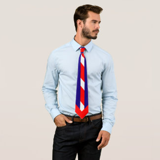 Red White & Blue (USA Colors) Neck Tie