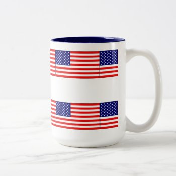 Red White Blue Usa Mug by creativeconceptss at Zazzle