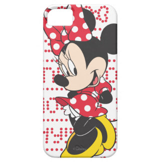 Red & White Bow Minnie iPhone 5 Covers