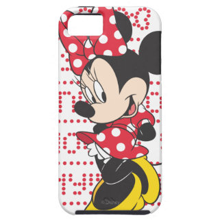 Red & White Bow Minnie iPhone 5 Case