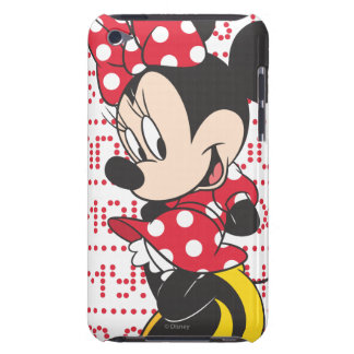 Red & White Bow Minnie iPod Case-Mate Case