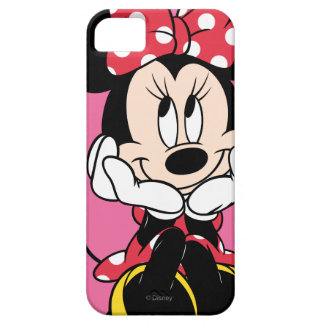 Red & White Bow Minnie iPhone 5 Cases