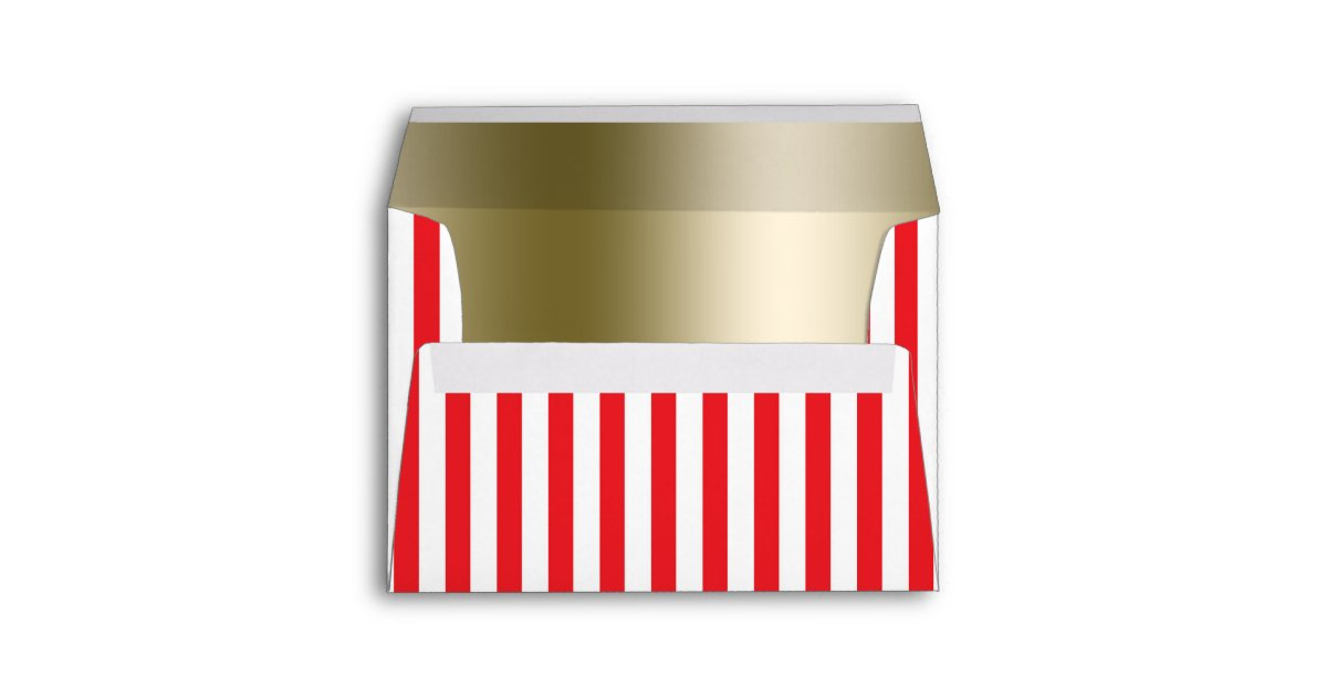 Terrific Red White Circus Stripes Invitation Envelope Zazzle Com Pdpeps Interior Chair Design Pdpepsorg
