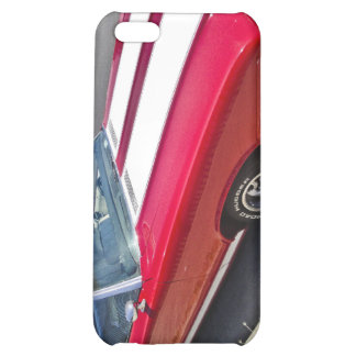 Red & White Classic Car iphone 4 cover