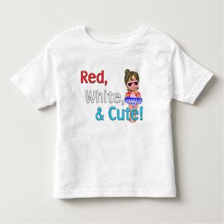Red, White & Cute! T-shirt