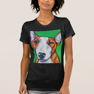Red/white English Bull Terrier T-shirts