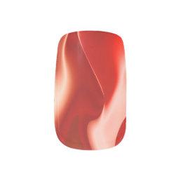 Red White Fire Design Minx Nail Wraps