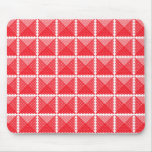 Red & White Gingham Like Mouse Pads