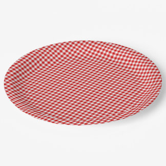 gingham paper plates Blue gingham paper plates 1/doz $ 399 love these blue gingham dinner plates set the theme for your wizard of oz party or any outdoor bbq or cookout 12 dinner.