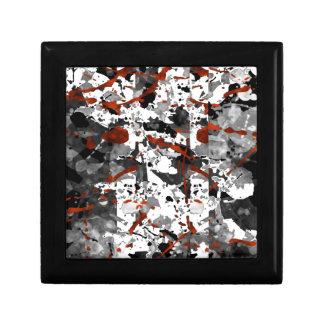 Red White Gray Gift Box