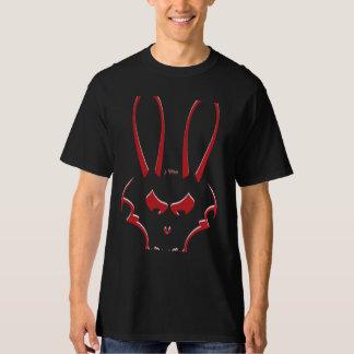 Red & White J. Rabbit logo Mens tall T-Shirt