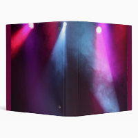 Red & White Lights binder