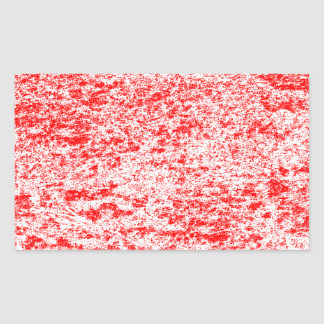 Red & White Marble Rectangle Sticker