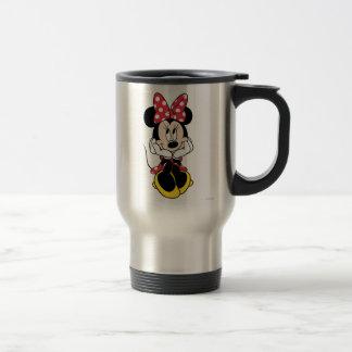 Red & White Minnie 1 15 Oz Stainless Steel Travel Mug