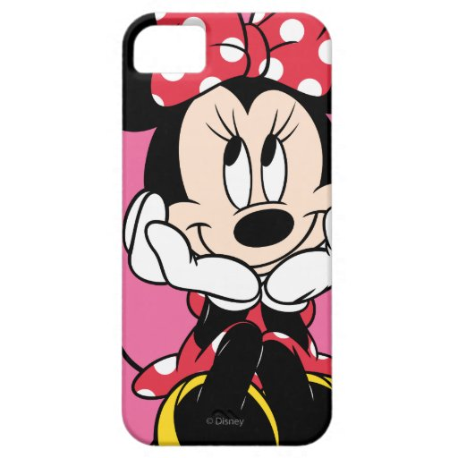 Red & White Minnie 1 iPhone 5 Cover