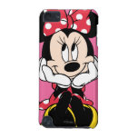 Red & White Minnie 1 iPod Touch (5th Generation) Cover