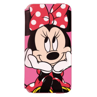 Red & White Minnie 1 Incipio Watson™ iPhone 6 Wallet Case