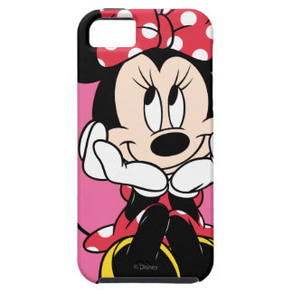 Red & White Minnie 1 iPhone 5 Cases