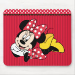 Red & White Minnie 1 Mouse Pads