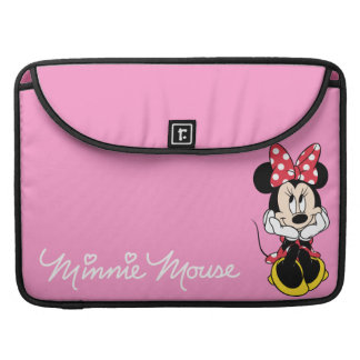 Red & White Minnie 1 Sleeves For MacBook Pro