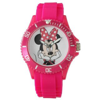 Red & White Minnie 1 Wristwatches