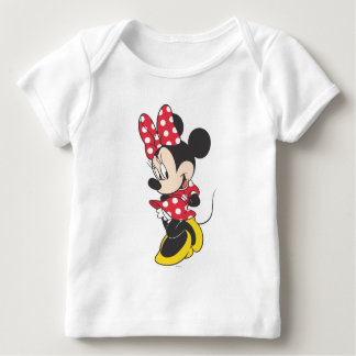 Red & White Minnie 3 Infant T-shirt