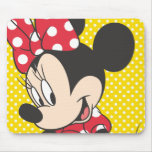 Red & White Minnie 3 Mouse Pads