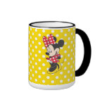 Red & White Minnie 3 Mug