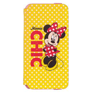Red & White Minnie | Chic iPhone 6/6s Wallet Case