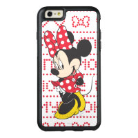 Red & White Minnie | Cute OtterBox iPhone 6/6s Plus Case