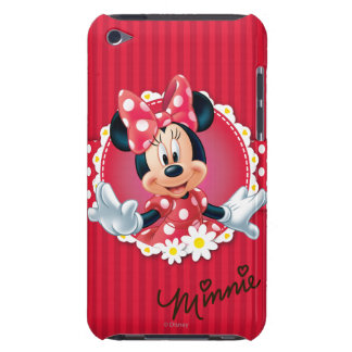 Red & White Minnie | Flower Frame iPod Touch Cover