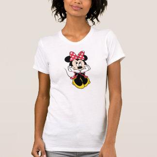 Red & White Minnie | Head in Hands Tee Shirt
