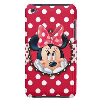 Red & White Minnie | Polka Dot Frame iPod Touch Covers