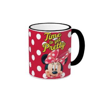 Red & White Minnie | Pretty Ringer Mug